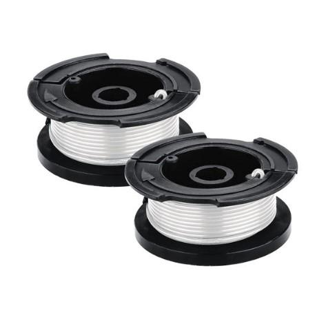Black & Decker AF-100-2 (2-Pack) String Trimmer Replacement Spool with 30 Feet of .065-Inch Line