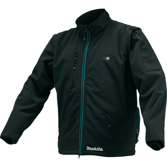 Makita CJ102DZ2XL 12V max CXT® Lithium-Ion Cordless Heated Jacket, Jacket Only (Black, 2XL)