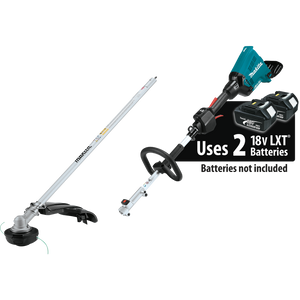 Makita XUX01ZM5 18V X2 (36V) LXT® Lithium-Ion Brushless Cordless Couple Shaft Power Head with String Trimmer Attachment (Bare Tool)