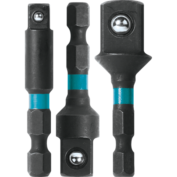 Makita A-97673 ImpactX™ 3 Pc. 2″ Socket Adapter Set