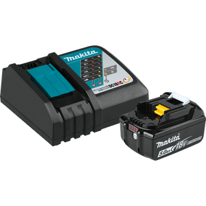 Makita BL1850BDC1 18V LXT® Lithium-Ion Battery and Charger Starter Pack (5.0Ah)