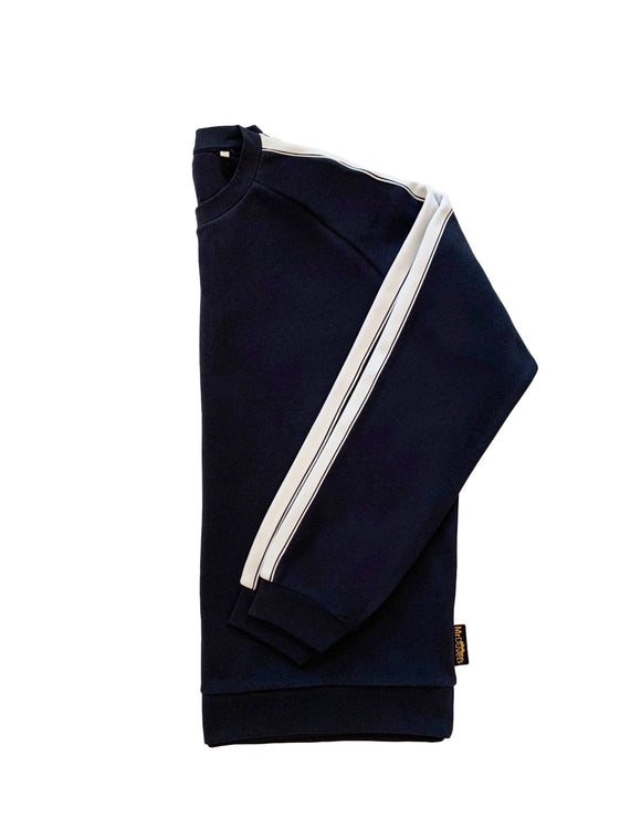 MONSOON NAVY BLUE UNISEX LOUNGEWEAR TRACKSUIT - MRDUVETSHOME LTD
