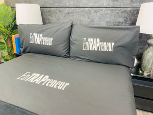 ENTRAPRENEUR CUSTOM BEDDING SET