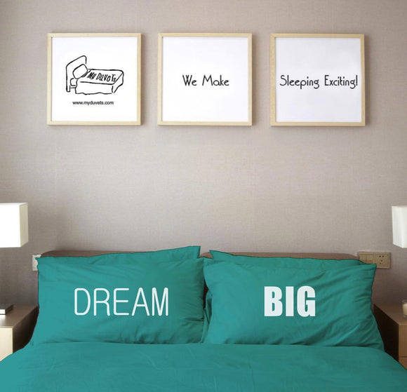 Dream Big Pillowcase Set