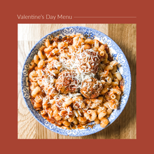 Load image into Gallery viewer, Valentine's Day Menu