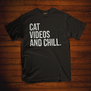Cat Videos and Chill Shirt - Mindpop