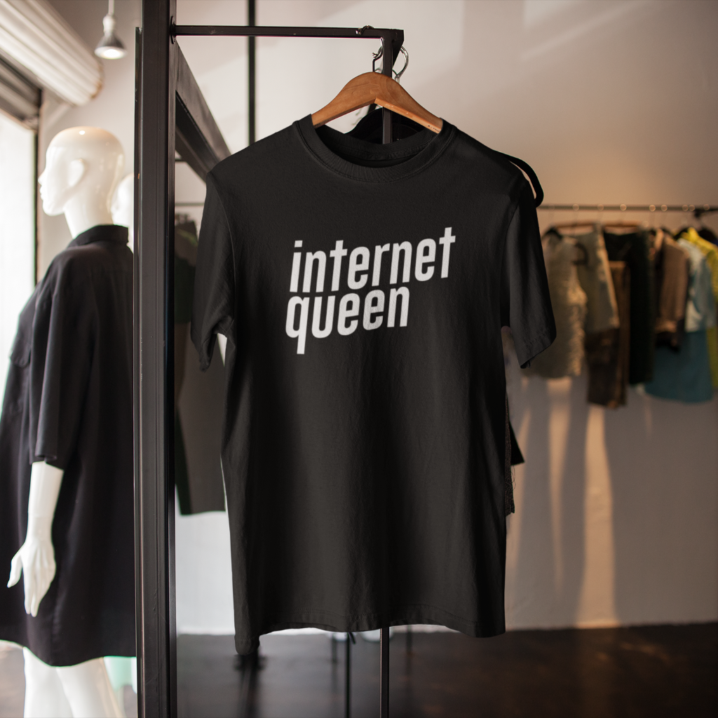 Internet Queen T-Shirt (6 colors) - Mindpop