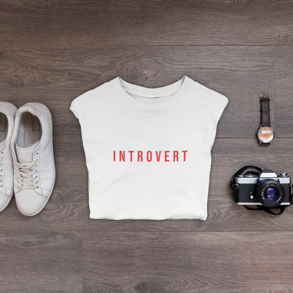 Introvert T-Shirt (5 colors) - Mindpop