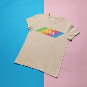 Love Gay Pride Retro Shirt