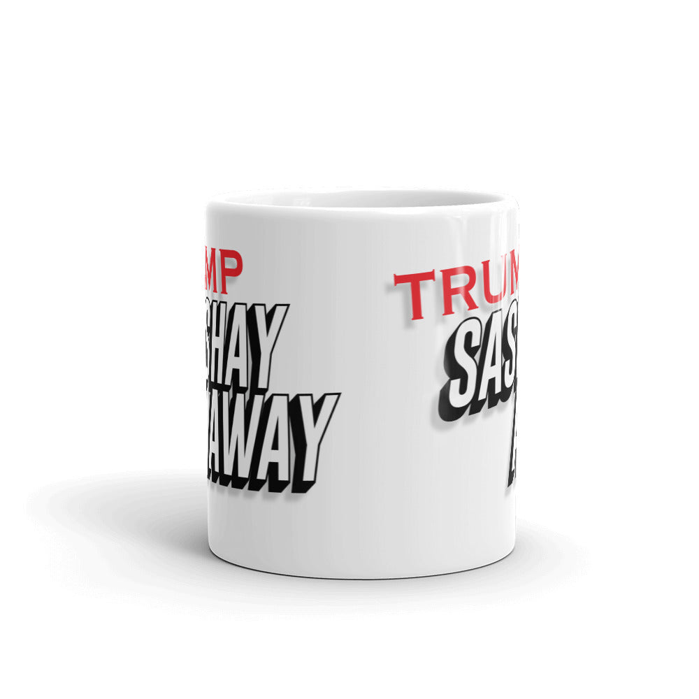 Trump Sashay Away Coffee Mug - Mindpop