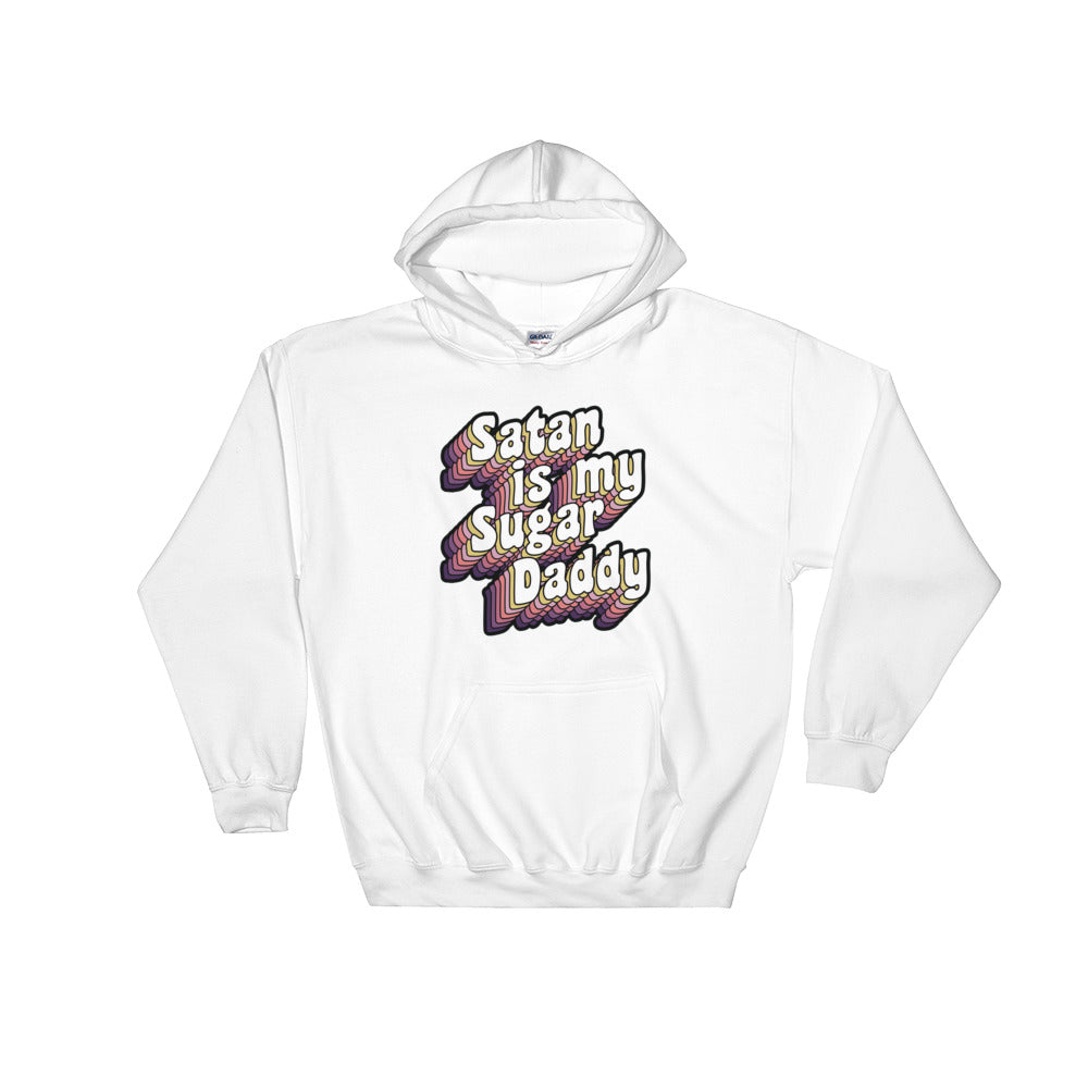 Satan Is My Sugar Daddy Hoodie - Mindpop