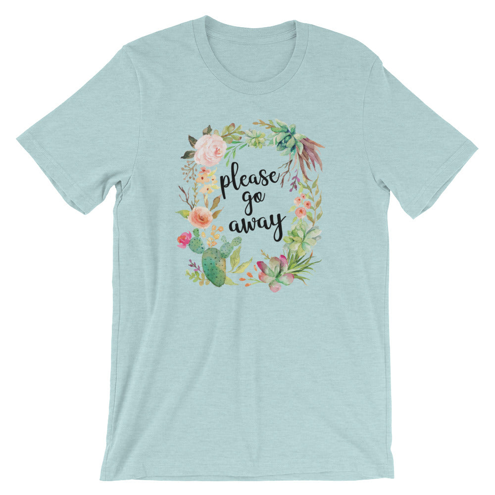 Please Go Away T-Shirt (6 colors) - Mindpop
