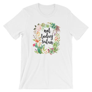 Not Today Satan T-Shirt - Mindpop