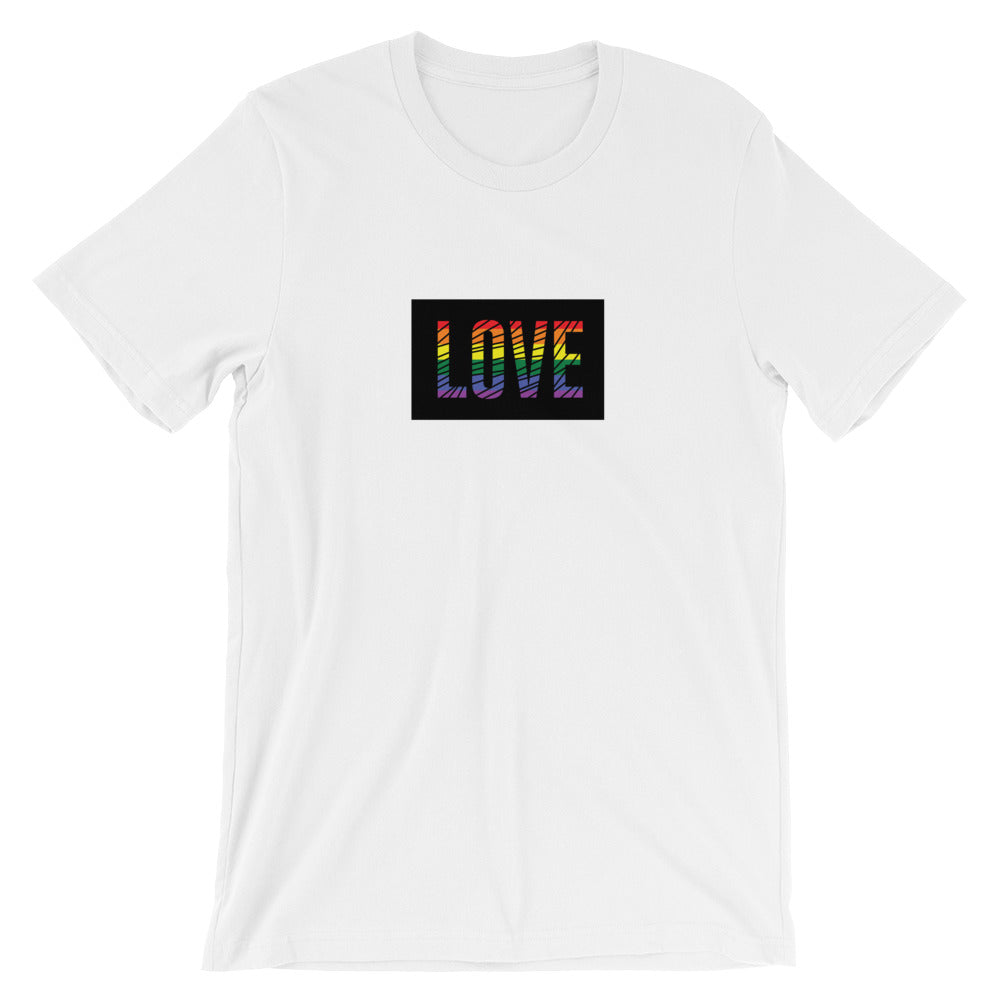 LOVE Unisex T-Shirt (7 colors) - Mindpop