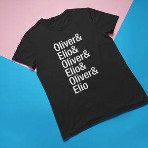 Call Me By Your Name Oliver & Elio Shirt - Mindpop