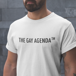The Gay Agenda™ Unisex T-Shirt (8 Colors) - Mindpop