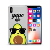 'Guac Life' Clear iPhone & Samsung Cover