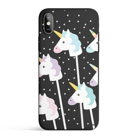 'Unicorn Pops' Candy Matte iPhone Cover