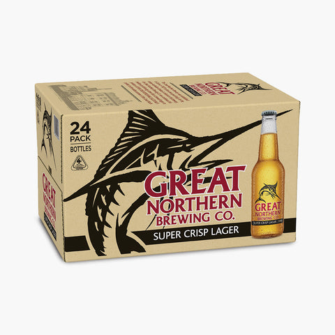 Year worth of Great Northern Super Crisp Lager