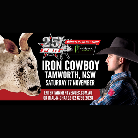 PBR Iron Cowboy Tamworth, Nov 17th
