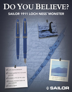 Sailor 1911 Large Fountain Pen - Loch Ness Monster
