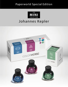 Colorverse Johannes Kepler Set - 3 × 5ml Glass Bottles