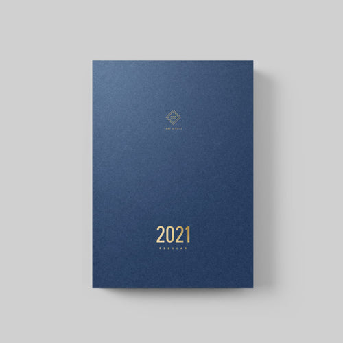 Take A Note 2021 Regular Planner - English A5 [Preorder, ships mid-Nov.]