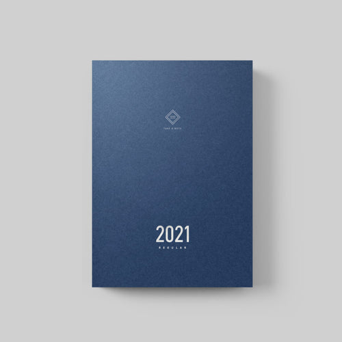 Take A Note 2021 Regular Planner - Chinese A5