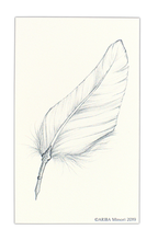 Load image into Gallery viewer, ARIBA Minori Coloring Card - Feather Pen