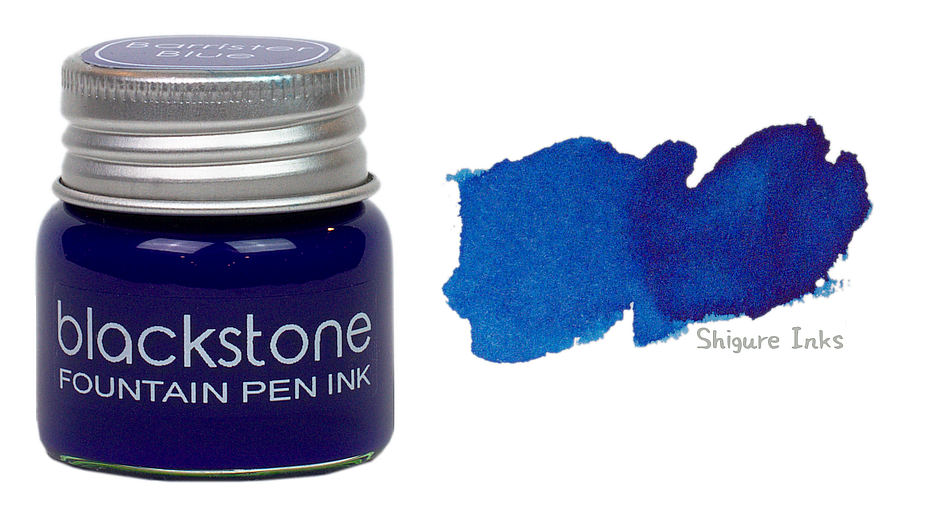 Blackstone Barrister Blue - 25ml Glass Bottle