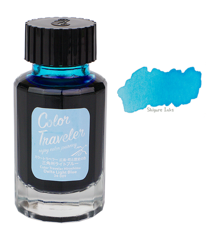 Color Traveler Delta Light Blue - 30ml Glass Bottle
