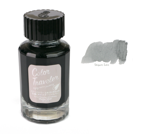 Color Traveler Oyster Silver - 30ml Glass Bottle