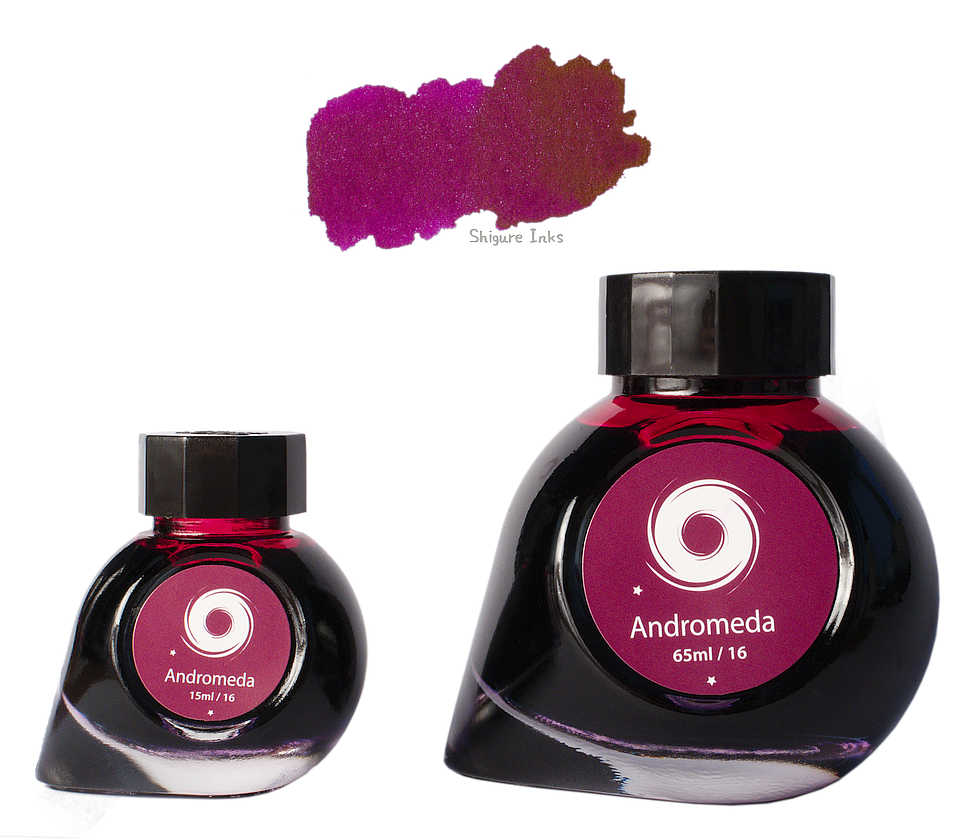 Colorverse Andromeda - 65ml + 15ml Glass Bottles