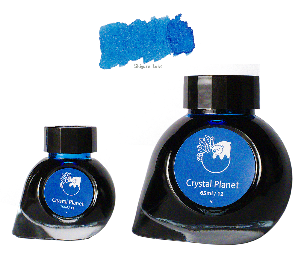 Colorverse Crystal Planet - 65ml + 15ml Glass Bottles