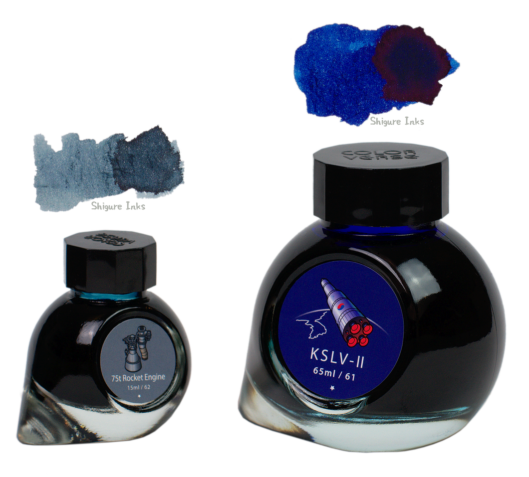Colorverse KSLV-II & 75t Rocket Engine - 65ml + 15ml Glass Bottles