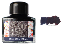 Load image into Gallery viewer, Diamine 1864 Blue Black - 40ml Glass Bottle