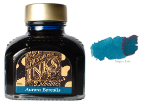 Diamine Aurora Borealis - 80ml Glass Bottle