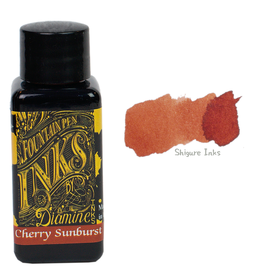Diamine Cherry Sunburst - 30ml