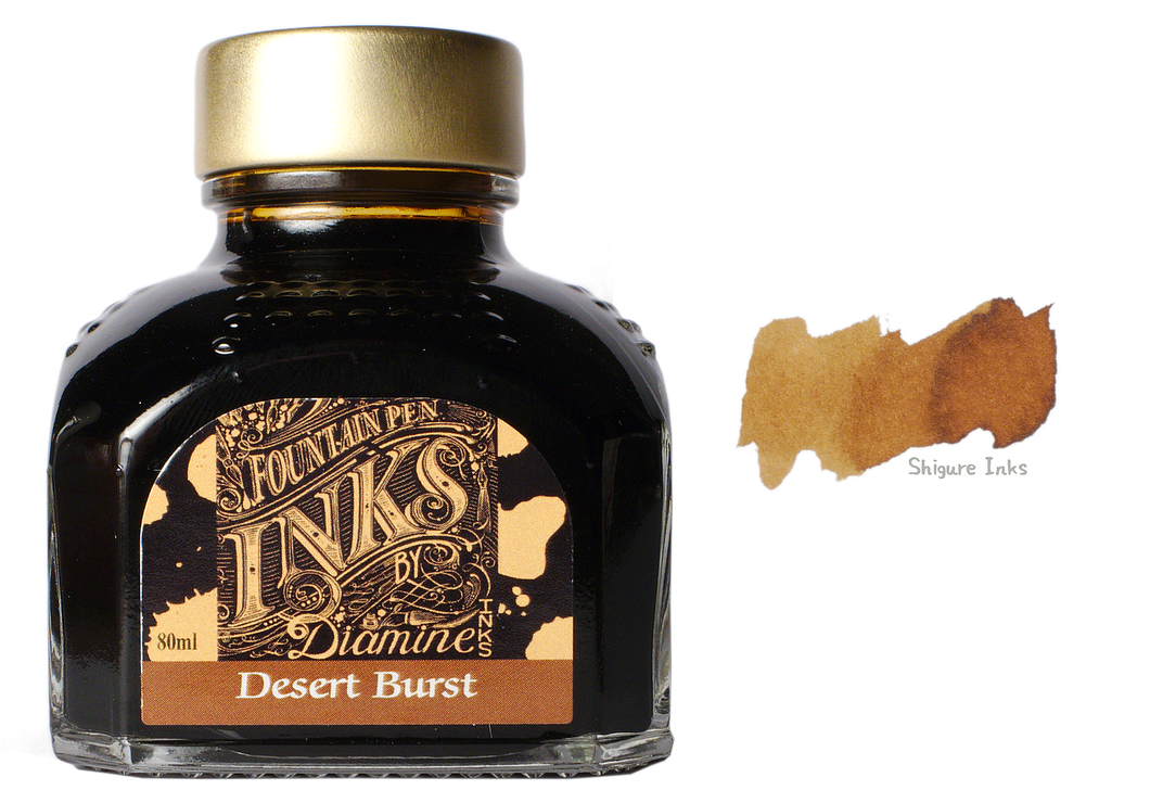 Diamine Desert Burst - 80ml Glass Bottle