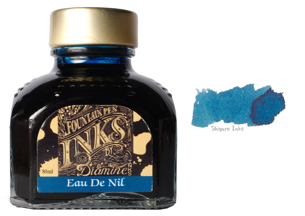Diamine Eau De Nil - 80ml Glass Bottle