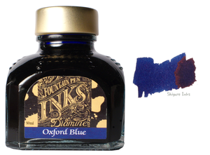 Diamine Oxford Blue - 80ml Glass Bottle