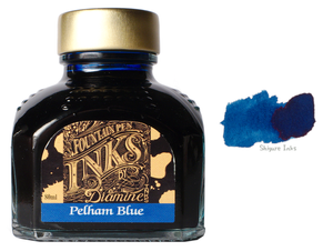 Diamine Pelham Blue - 80ml Glass Bottle