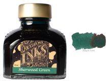 Load image into Gallery viewer, Diamine Sherwood Green - 80ml Glass Bottle
