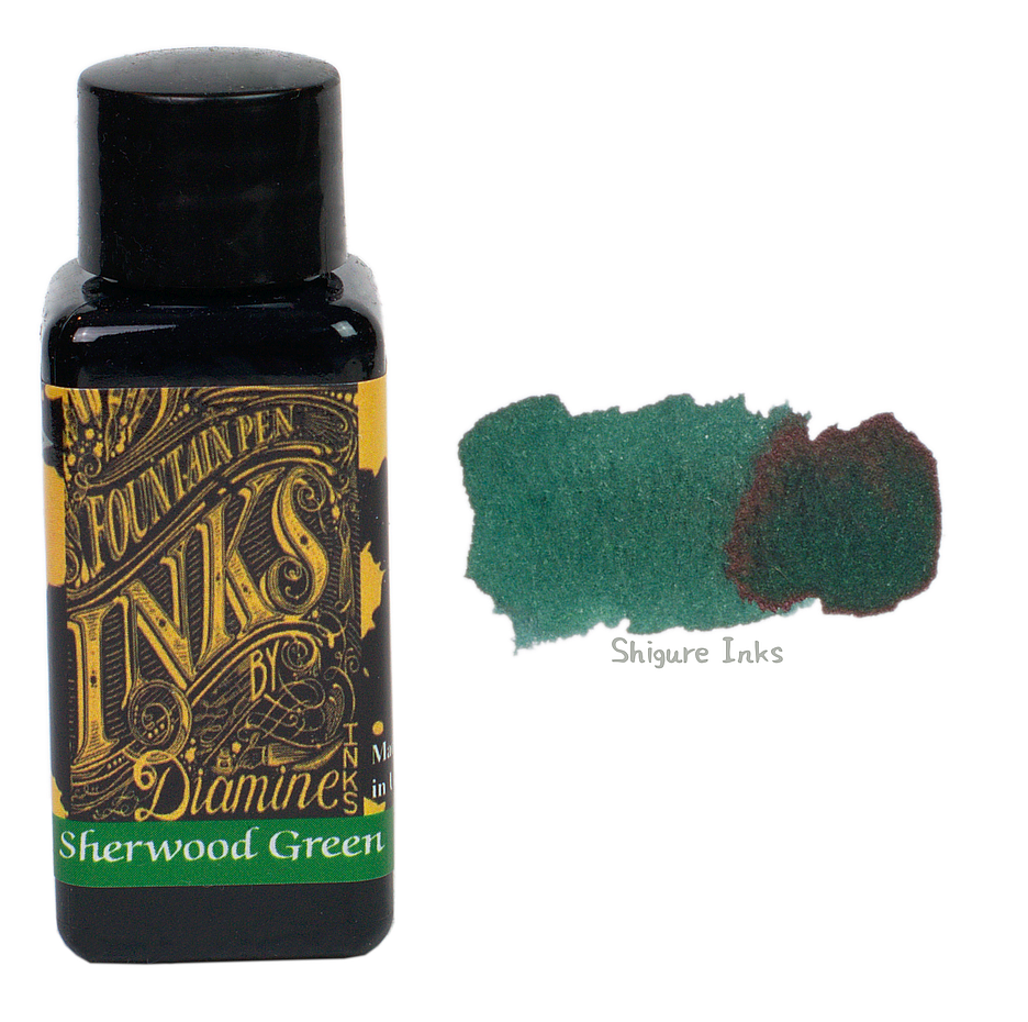 Diamine Sherwood Green - 30ml