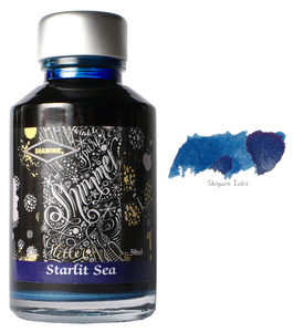 Diamine Starlit Sea - 50ml Glass Bottle
