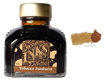 Load image into Gallery viewer, Diamine Tobacco Sunburst - 80ml Glass Bottle