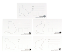 Load image into Gallery viewer, eric@kanan Ink Swatch Cards - Cat