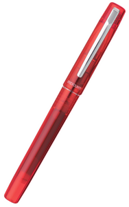 Platinum Prefounte Fountain Pen - Vermilion Orange