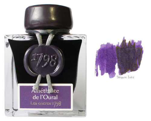 J Herbin 1798 Amethyst of the Ural - 50ml Glass Bottle