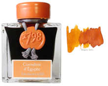 Load image into Gallery viewer, J Herbin 1798 Cornaline d'Egypte - 50ml Glass Bottle